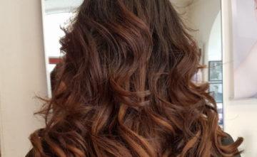 Färga håret /Permanenta håret